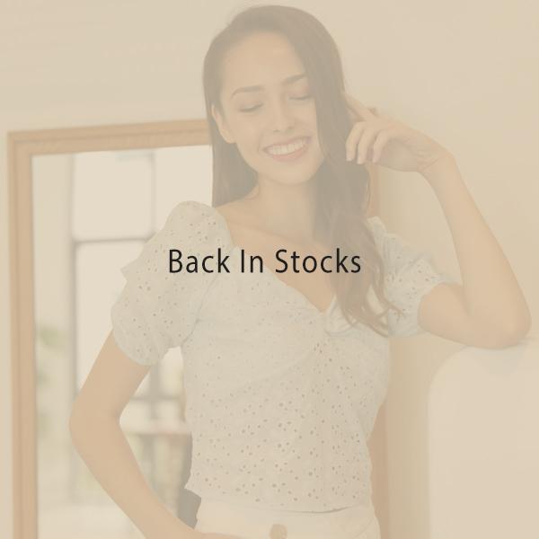 Back in stocks