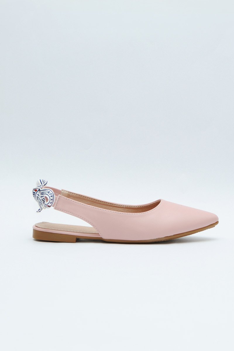 Hello Kitty Slingback Flats Blush