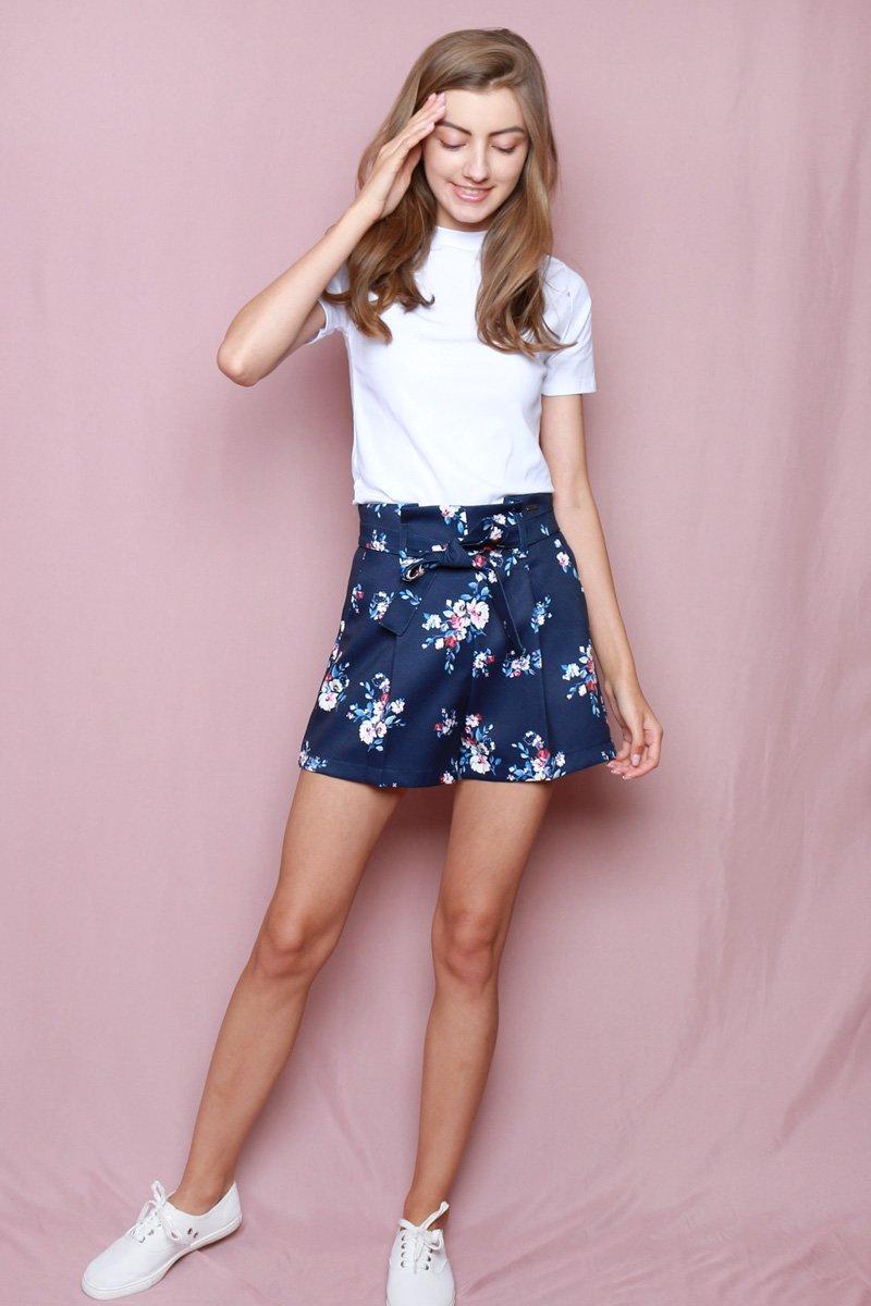 Hello Kitty Paperbag Shorts Midnight