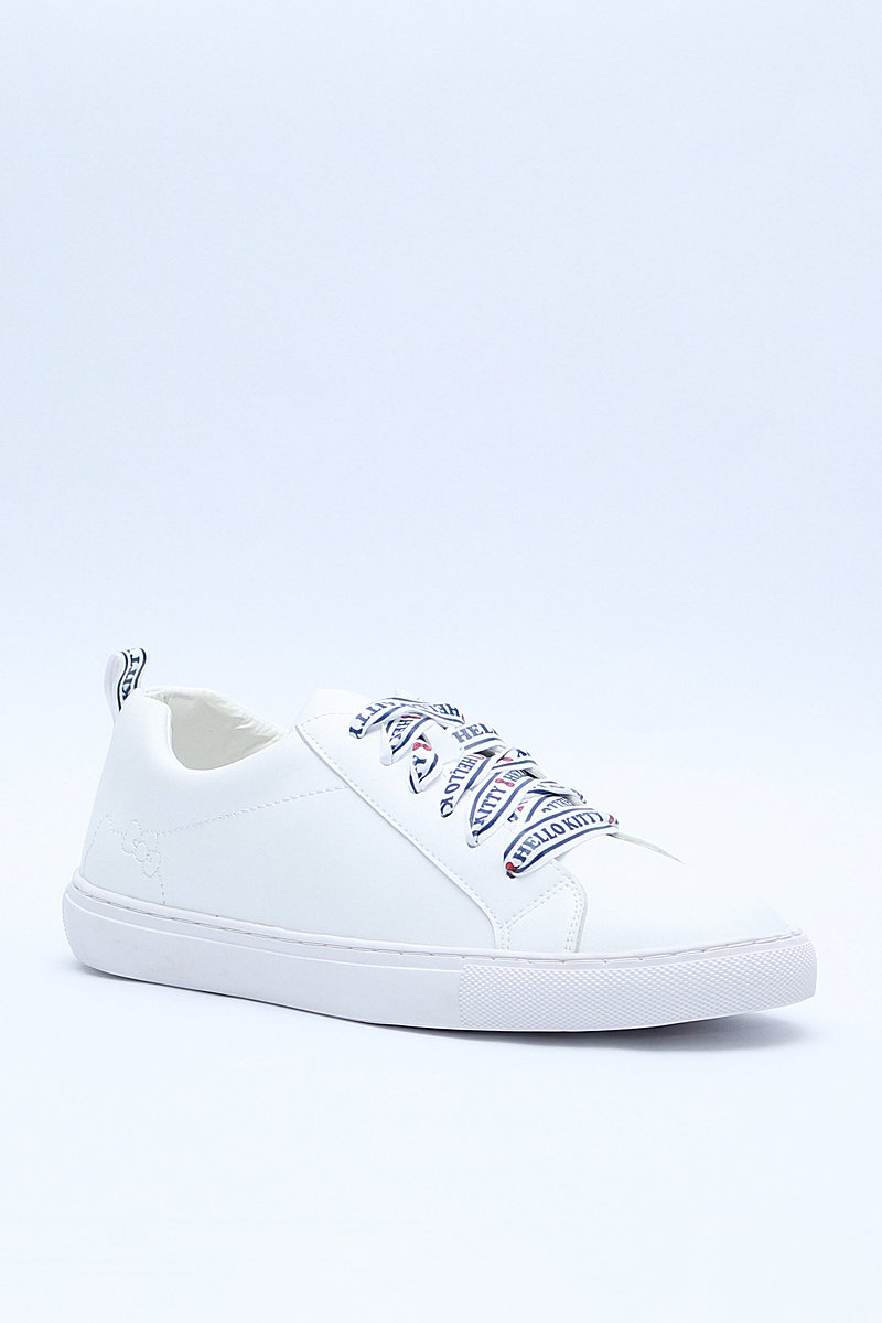 Hello Kitty Sneakers Ivory