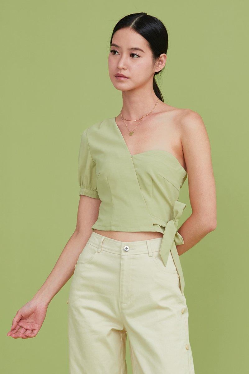 Paloma Toga Top Lime