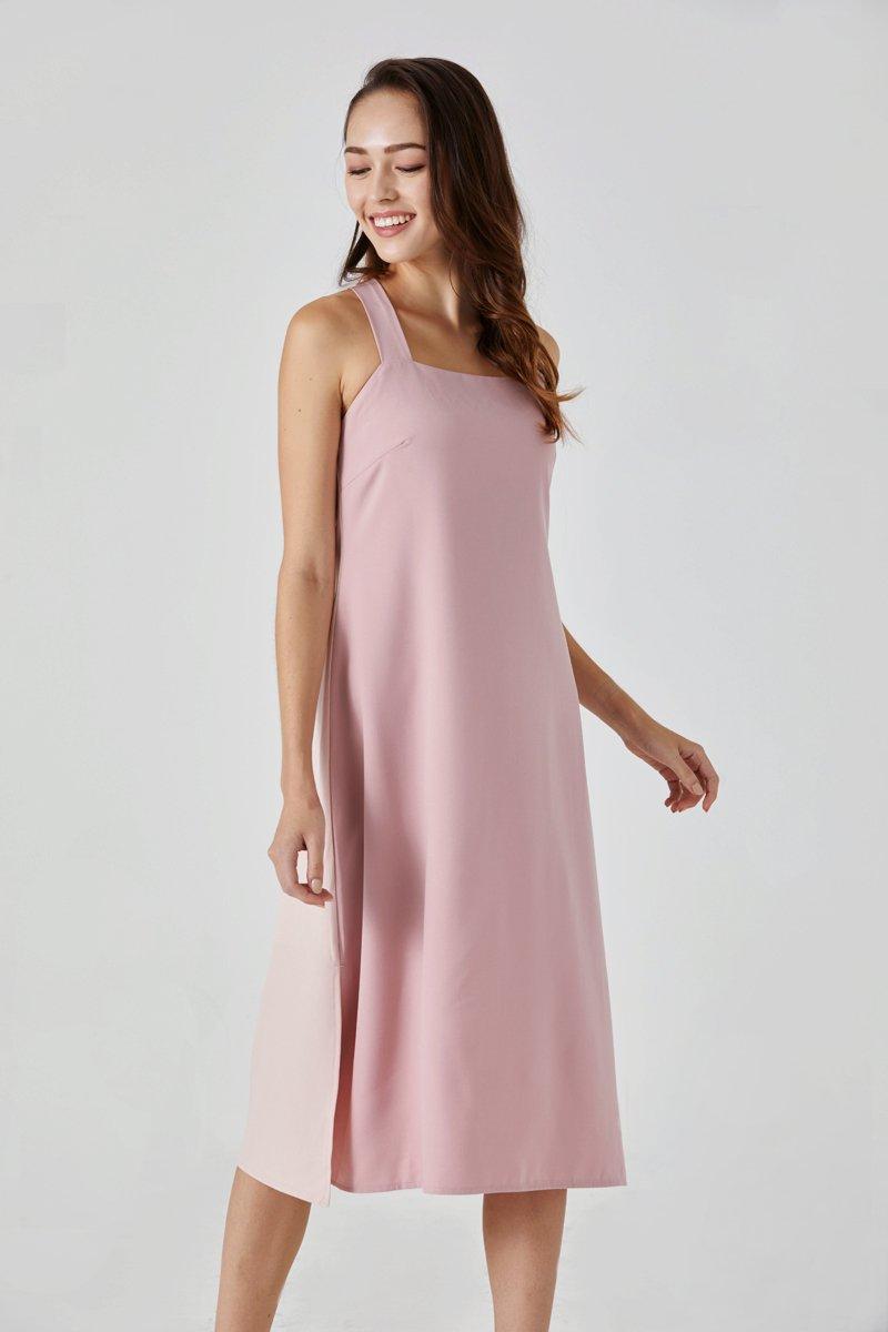 Alissa Camisole Dress Blush