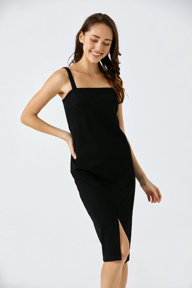 Zelda Bodycon Dress Black