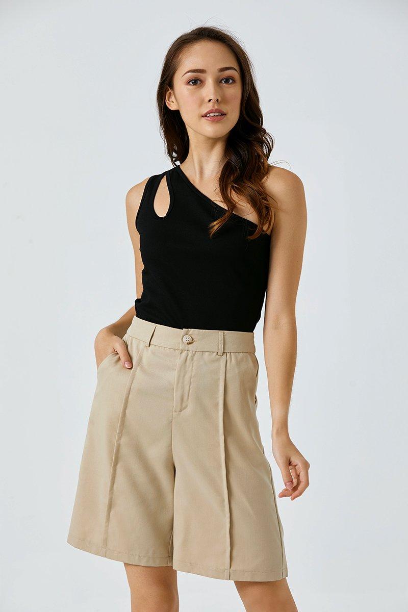 Yesenia Longline Shorts Sand