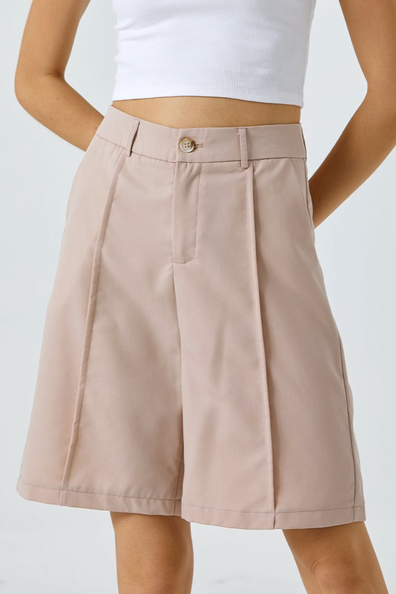Yesenia Longline Shorts Blush