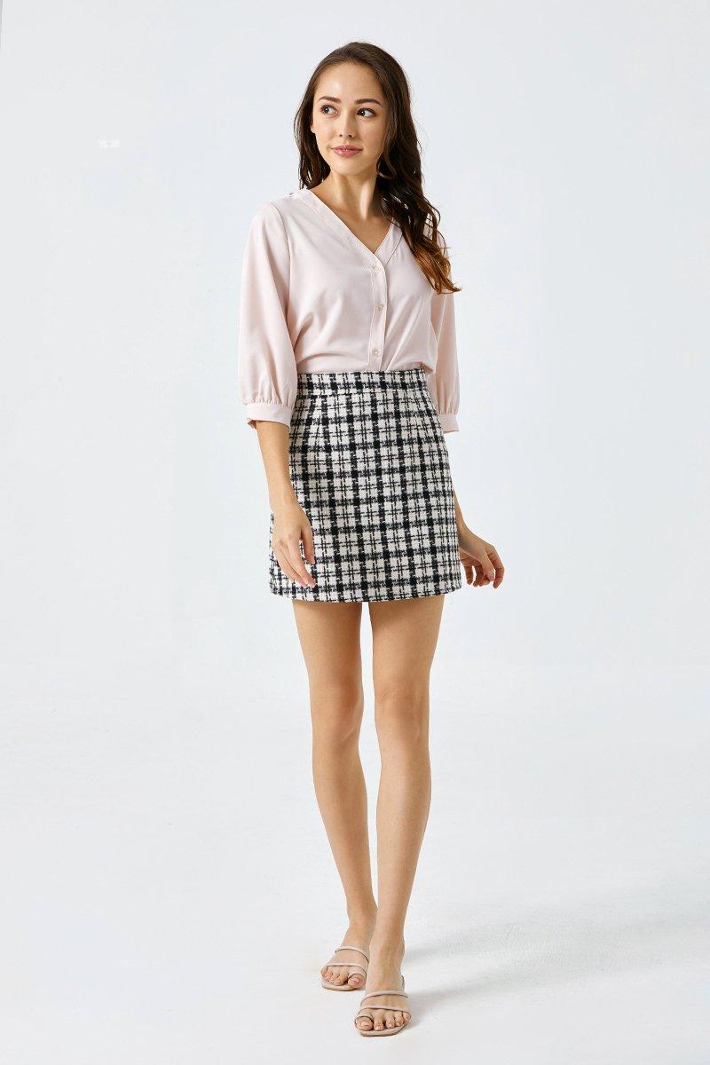 Jolene A Line Skirt Black