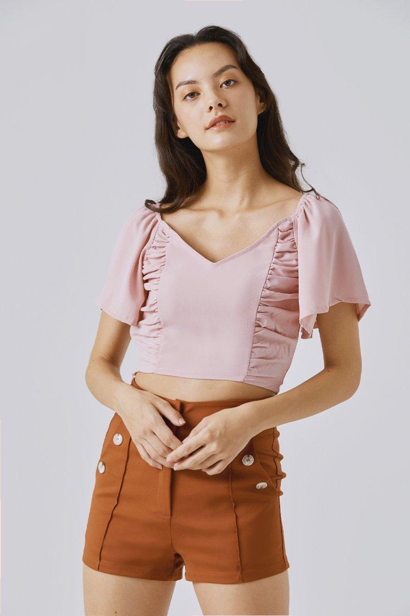 Parissa Crop Top Blush