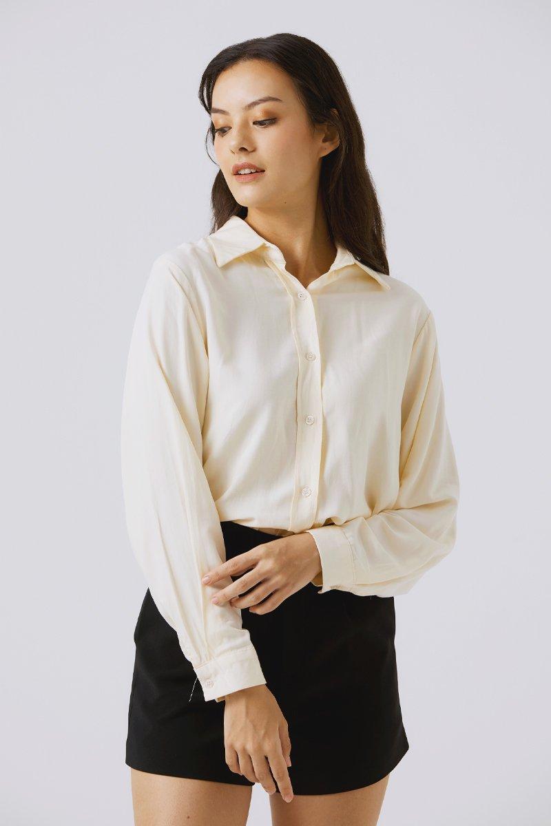 Kellianne Relaxed Shirt Apricot
