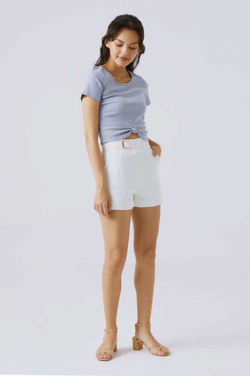 Arya Shorts Ivory
