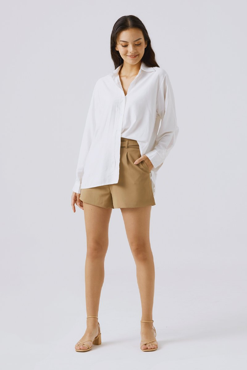 Kellianne Relaxed Shirt Ivory