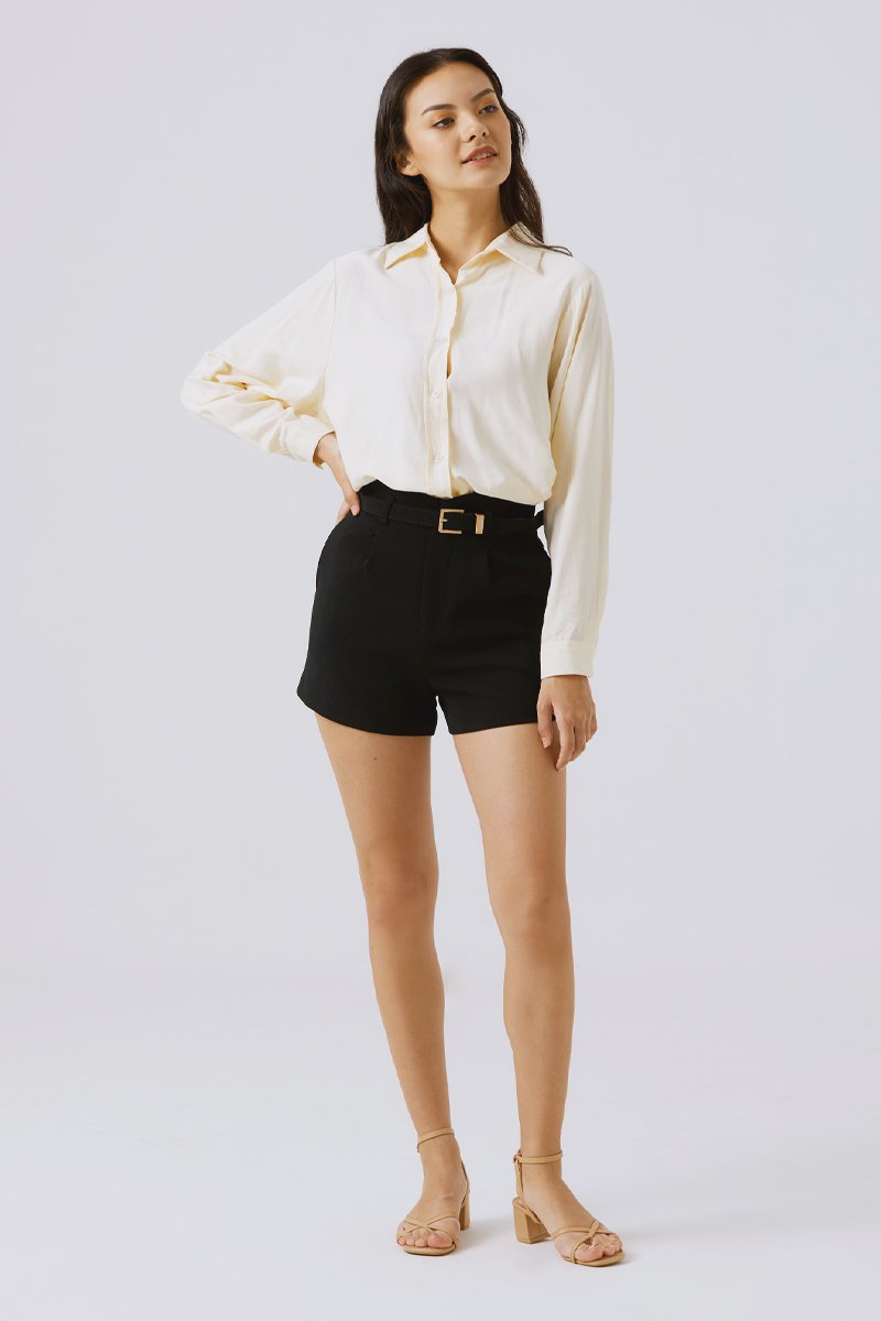 Kellianne Relaxed Shirt Apricot