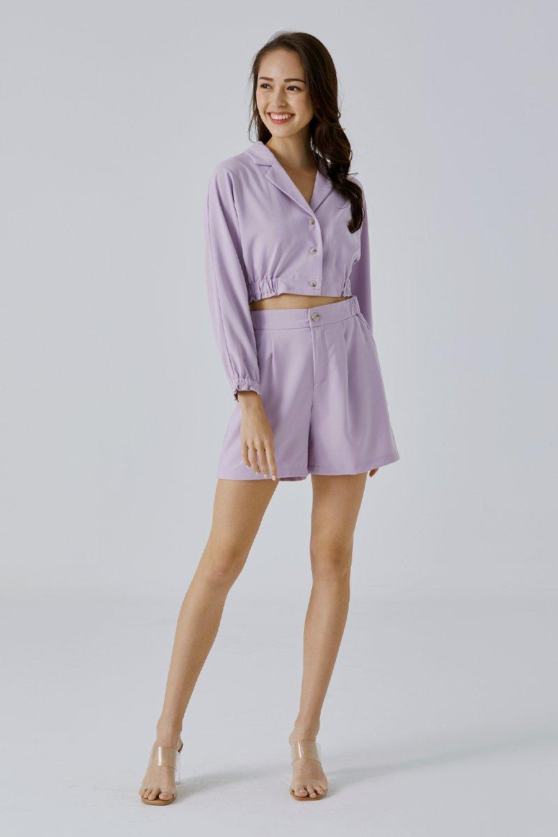 Raylea Shorts Lilac