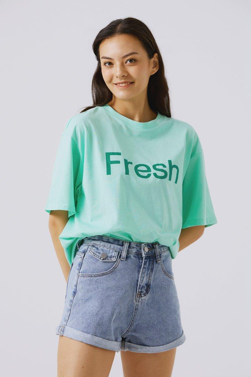 Brianne Oversized T-shirt Mint