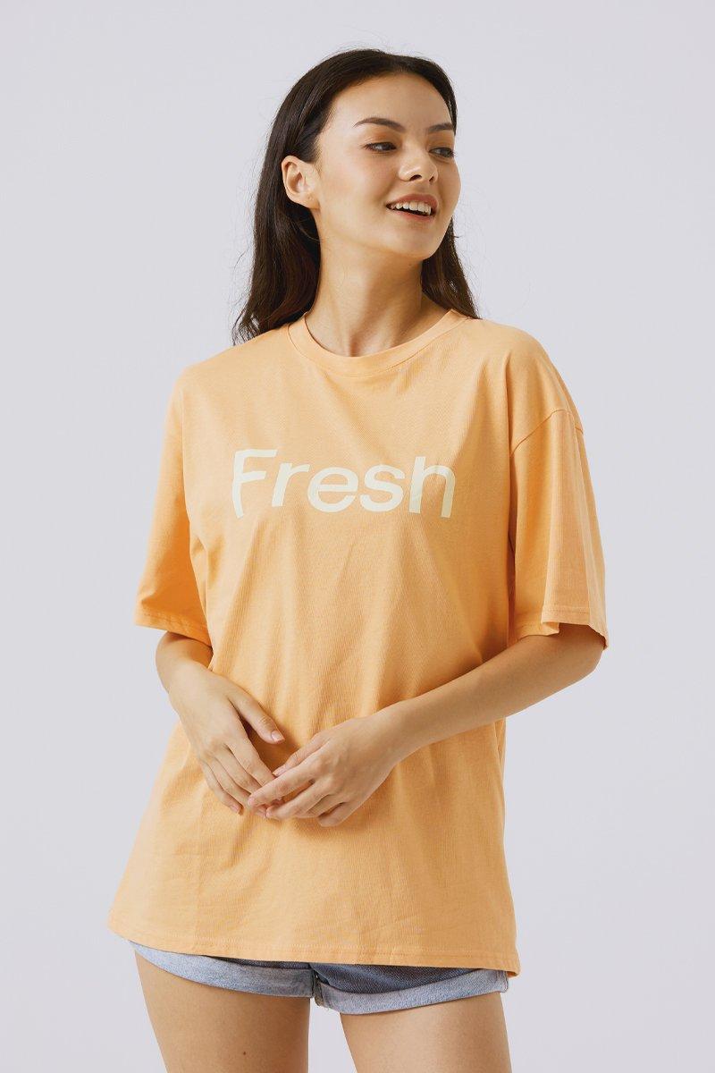Brianne Oversized T-shirt Orange