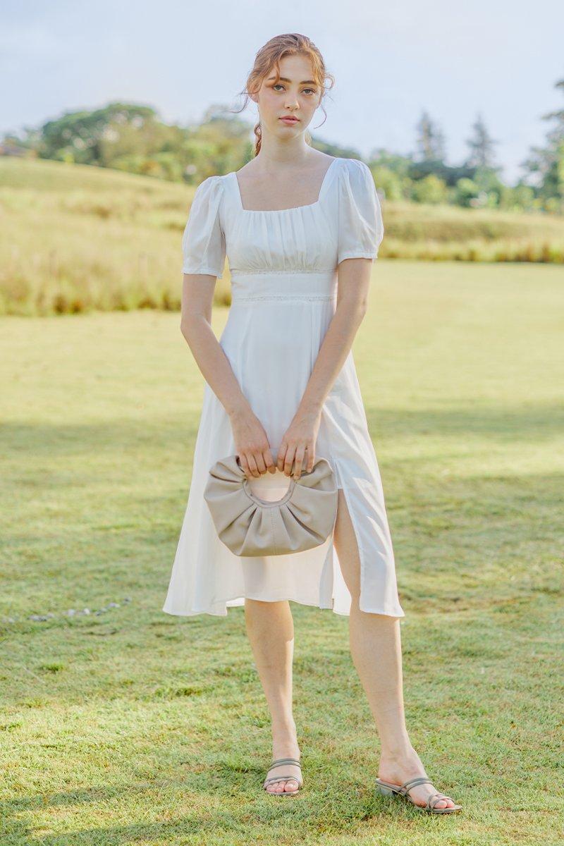 Ebe Midi Dress Ivory