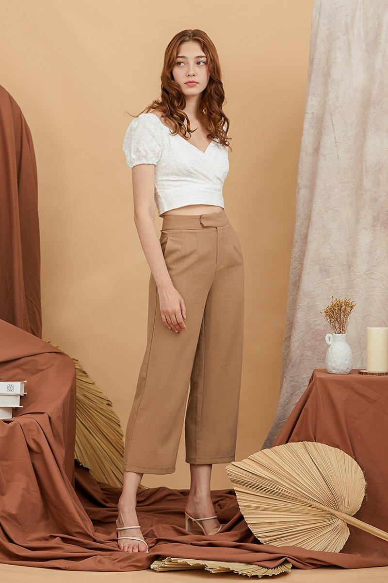 Jelisa Pants Cocoa