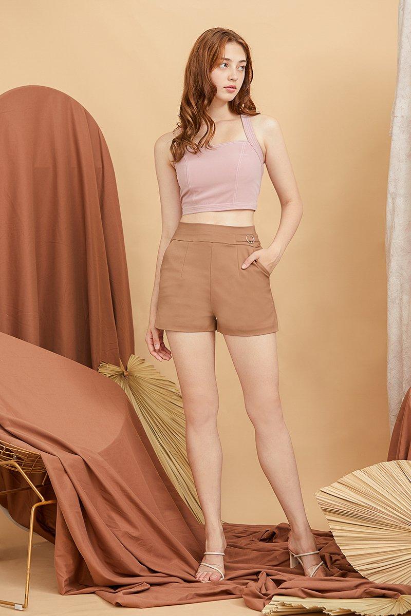 Reida Shorts Cocoa