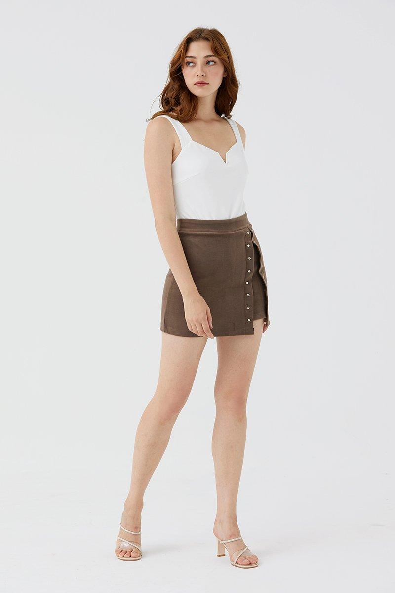 Hattie Skirt Cocoa
