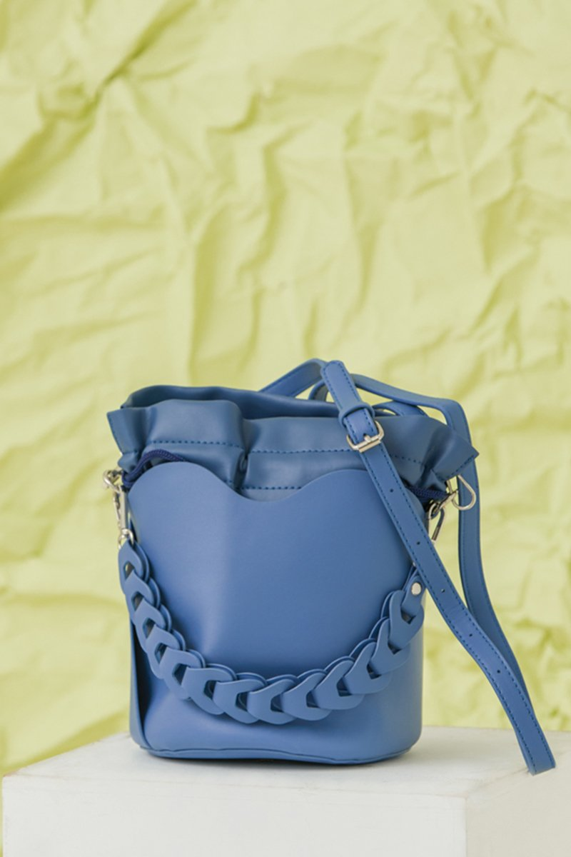 Beryle Bucket Bag Cobalt