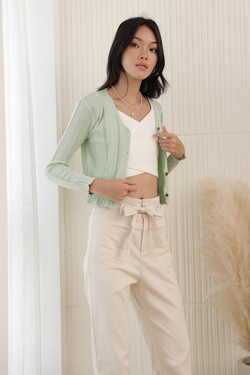 Milena Knit Top Mint