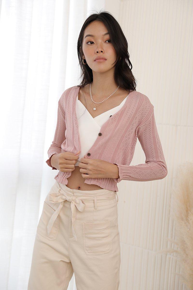 Milena Knit Top Blush
