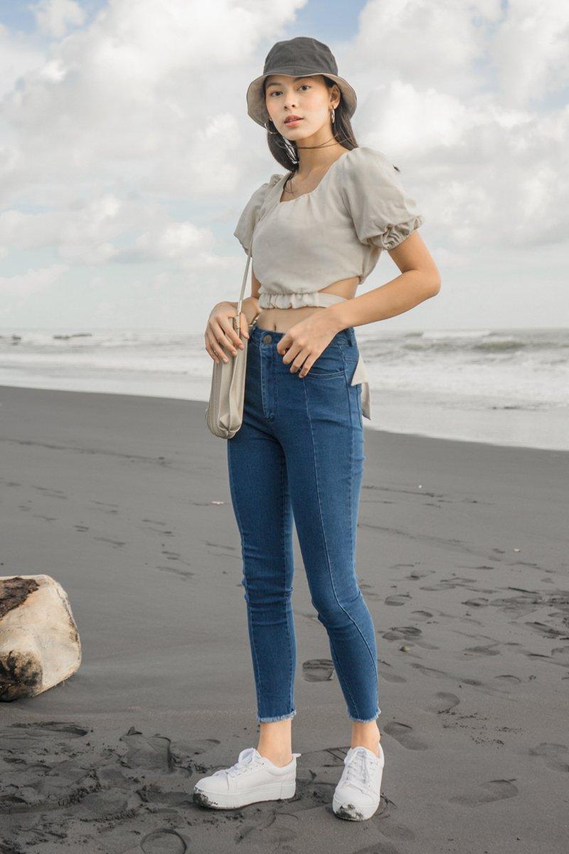 Candes Denim Skinny Jeans Dark Wash