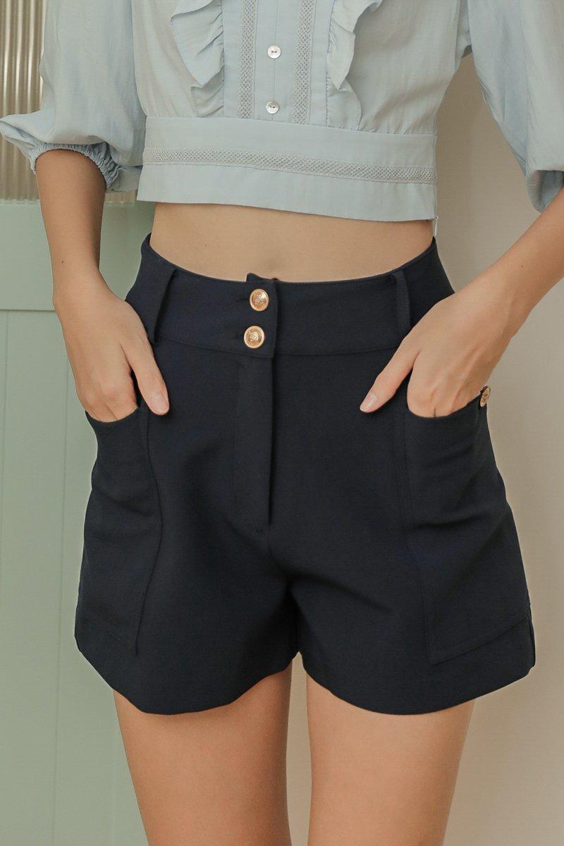 Carli Shorts Midnight